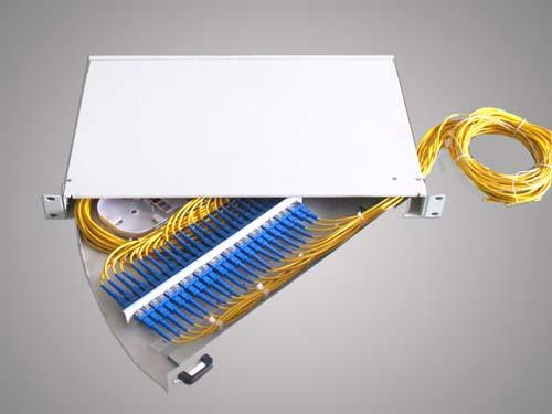 ST / LC Fiber Optic Terminal Box Stainless Steel For Local Area Netwoks