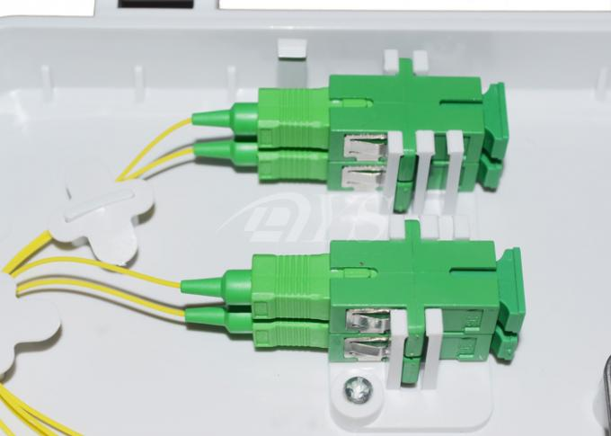 FTTH - 015 Outdoor/Indoor Wall mounted 6 Ports FTTH Fiber Optic Patch Box