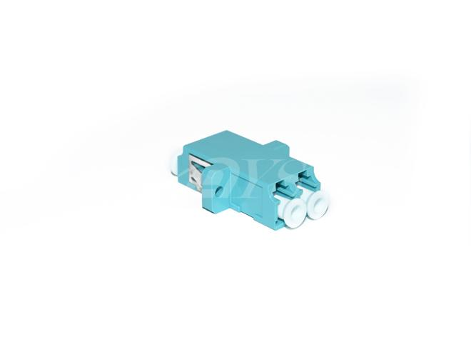 Fiber Optic Om3 LC Adapter Duplex