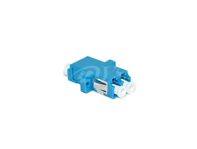 Duplex Singlemode Fiber Optical Adapter LC / UPC , High Size Precision