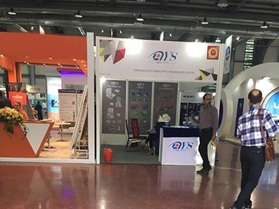 latest company news about DYS have exhibited our products in October 16th-19th, Iran Telecom 2017  1