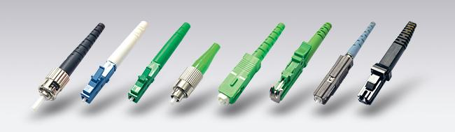 Assembles SM MM DX SX Low Insertion Loss Value LC Optical Fiber Connectors For Local area networks