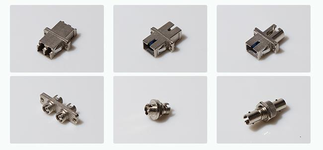 Fiber Optic female to male FC to SC hybrid Fiber Optic Adapter Free-hanging or panel-mount design