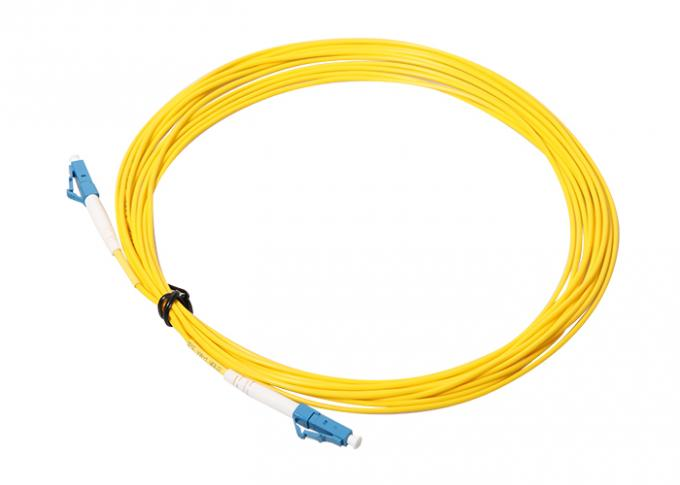 Simplex Single Mode LC LC Patch Cord For FTTX Network 0