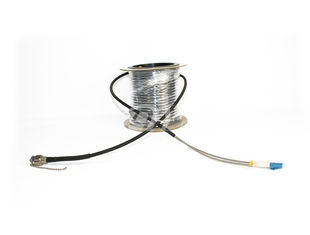 OEM 2 Core AARC-LC Male Outdoor Cable Assembly For Surveillance Systems