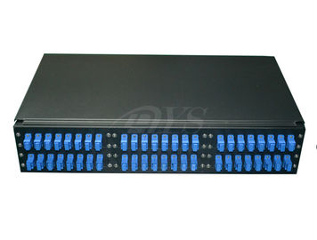 19'' or 23'' rack mount 2U 48 Core ODF fiber optic patch panel