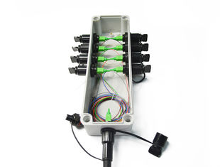 Waterproof Patch cord with Multi Port (SC) Mini SC FTTH Terminal junction box
