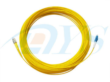 LC-FC Optical Fiber Patch Cord Singlemode Simplex for Telecommunications