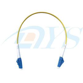 Low Insertion Loss Optical Fiber Patch Cord 62.5mm / 50mm Multimode Fiber with IEEE802.3Z