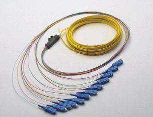 Single Mode Optical Fiber Patch Cord Fiber Optic Pigtail for CATV System