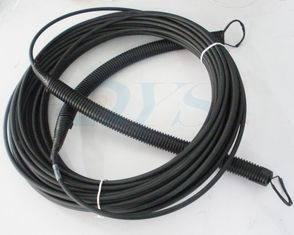 Black Optical Fiber Patch Cable Multi-mode For LC / SC All Type Connector
