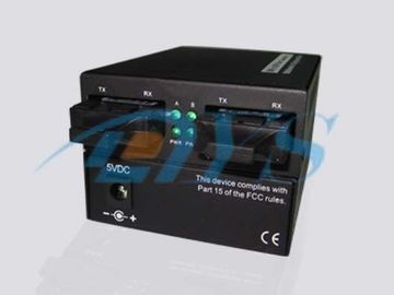 Multimode Optical Fiber Media Converters UTP With 1K MAC Address Table