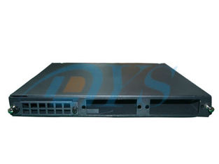 Aluminium Black Odf Fiber Optic , 24 Port SC Fiber Optic Patch Panel