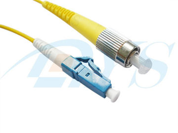 9/125 Simplex FC to LC Fiber Optical Jumper For 802.3u / 802.3z