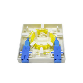 High Quality Fiber Optic 2 core FTTH mini fiber optic terminal box