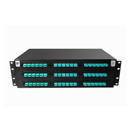3U 72 Port MPO / MTP Fiber Optic Patch Panel Mulitmode High Density Rack Mount