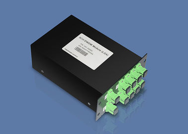 Coarse / Dense Wavelength Division Multiplexer CWDM / DWDM Connector Modules Premium