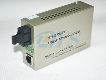 Singlemode Fiber Optic Media Converter Duplex SC High-speed