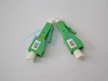 3dB SM LC / APC Fiber Optic Attenuator Attenuating Material - Ion Doped Fiber