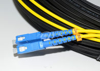 China Duplex SC to SC Optical Fiber Patch Cord Patch / Cord Jumper For CATV factory