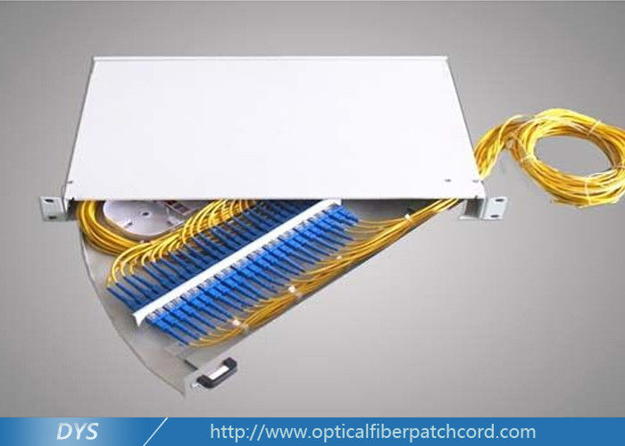 China ST / LC Fiber Optic Terminal Box Stainless Steel For Local Area Netwoks supplier