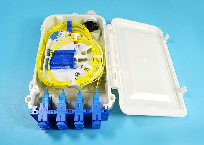 China 12 Port SC FTTH-020 Series Fiber Optic Termination Box 0.9 2.0 3.0mm Pigtail Diameter supplier