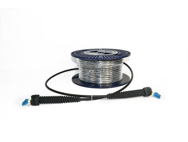China NSN Outdoor Fiber Optic Cable Assemblies With IP67 Waterproof Protection supplier