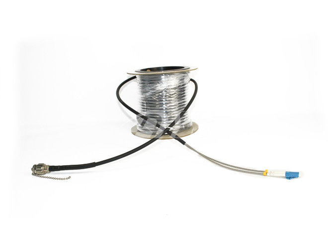 China OEM 2 Core AARC-LC Male Outdoor Cable Assembly For Surveillance Systems supplier