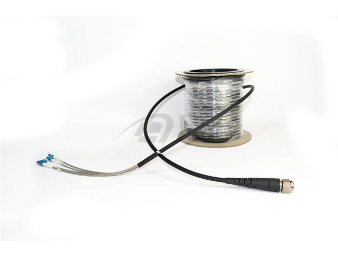 China 4 Core Male Fiber Optic Cable Assemblies / Outdoor Cable Assembly supplier