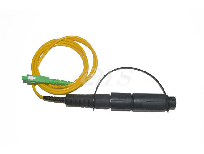 Single Tube Fiber Optic Ethernet Cable 1 Fiber OptiTap To SC/APC Jumper Cord supplier