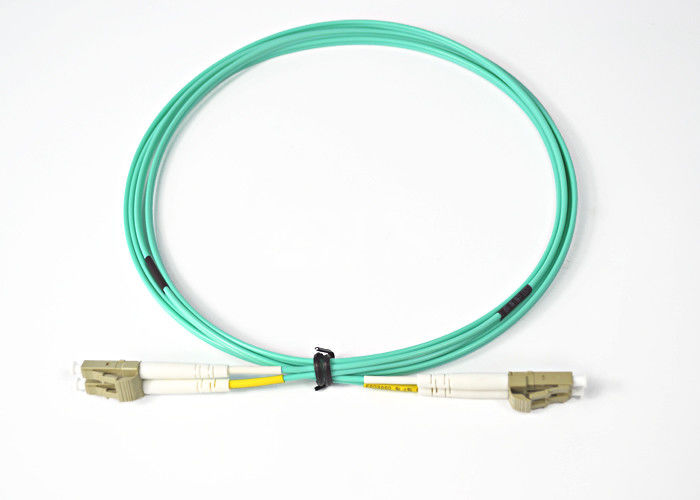 High Return Loss Flexible DYS LC Optical Fiber Patch Cord Meet The EUROPE ROHS Request supplier