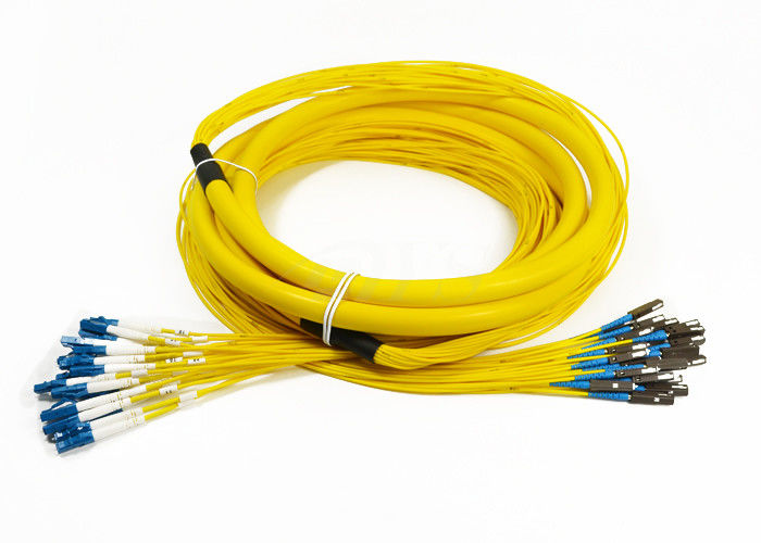 24 Core Distribution Jumper Optical Fiber Patch Cord , Fiber Optic Patch Cords supplier