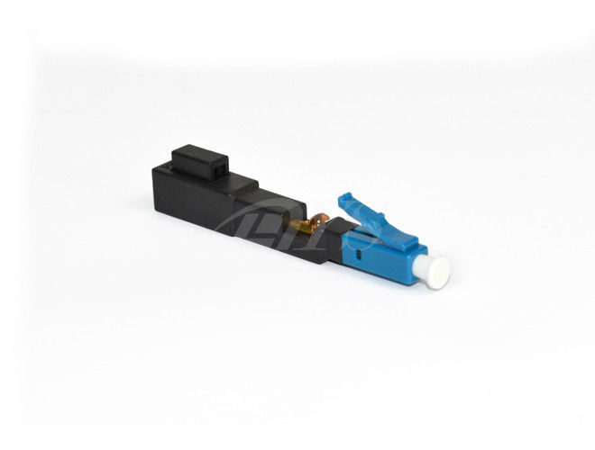 LC Fast Optical Fiber Connector 3.0 X 2.0 Mm Bow Type Drop Cable supplier