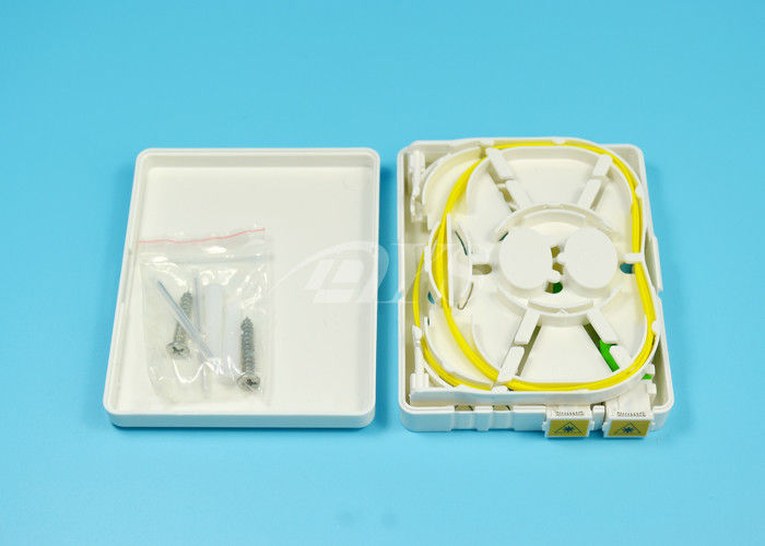 China FTTH  Mini Fiber Optic Terminal Box For Local area networks supplier
