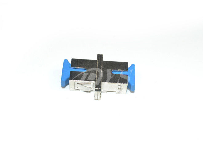 China SC - SC Singlemode Simplex Fiber Optic Network Adapter , Stable Capability supplier