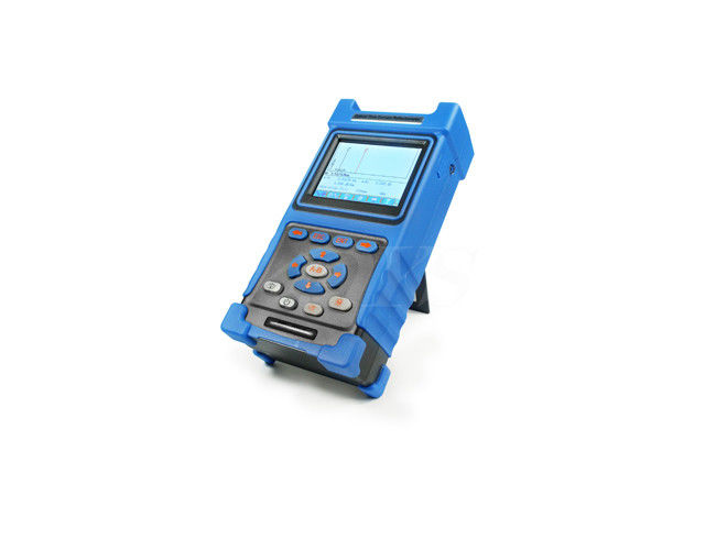 China Blue Palm Otdr Fiber Optic Test Equipment , Professional Fiber Otdr Tester DYS3028 supplier