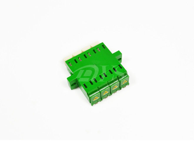 China LC/APC quad Adapter,shutter adapter,optic fiber adapter supplier