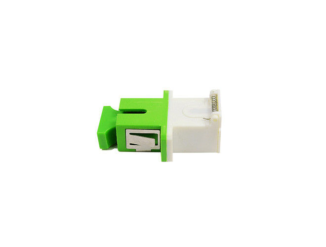 China High wearable SC/APC Shutter Cassette Fiber Optic Adapter For Telecommunications supplier