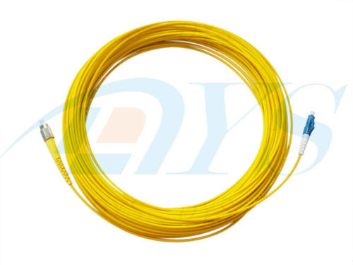 China LC-FC Optical Fiber Patch Cord Singlemode Simplex for Telecommunications supplier