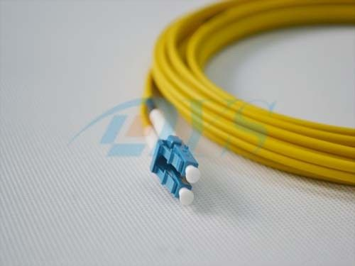 Multimode  Duplex LC-LC Optical Fiber Patch Cord supplier