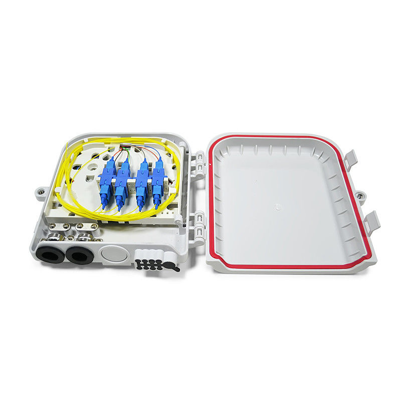 China FTTH-004 Fiber Optic termination box ABS Plastic FTTH box supplier