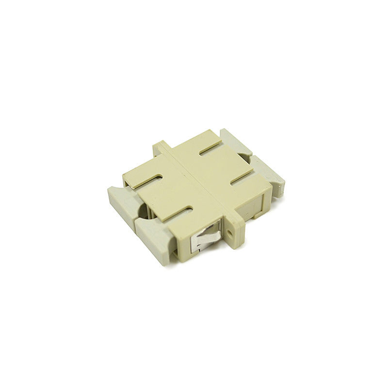 China Duplex Multimode SC/UPC Fiber Optical Adapter For High Size Precision supplier