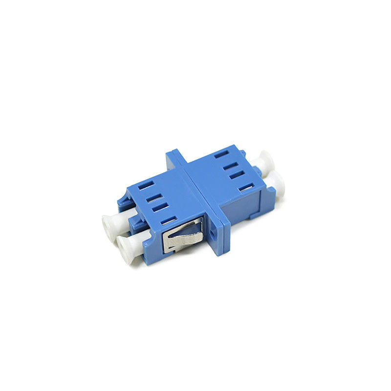 China High Wearable Fiber Optic Adapter Singlemode Duplex LC For Optical Networks supplier
