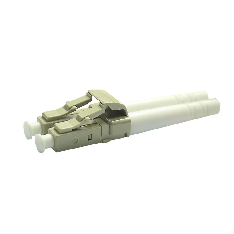 China LC Duplex Multimode Optical Fiber Connectors For Telecom Network supplier