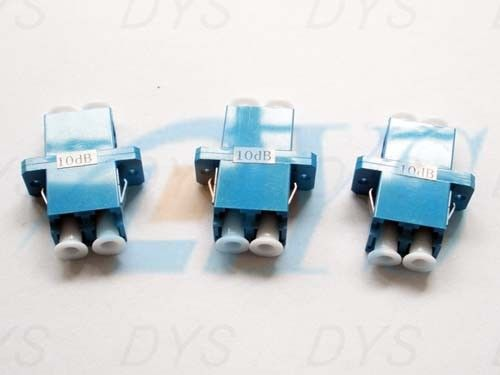China LC Duplex Fiber Optic Attenuator Blue Stable For Passive Optical Networks supplier