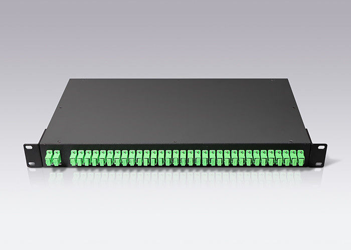 16 Channels Optical WDM Device Filters Mux Demux CWDM 1U Rackmount 8 Channel CWDM MUX supplier