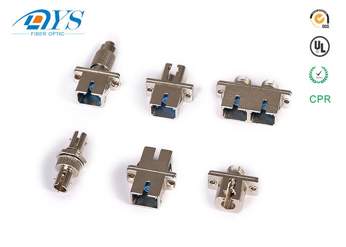 China Fiber Optic female to male FC to SC hybrid Fiber Optic Adapter Free-hanging or panel-mount design supplier