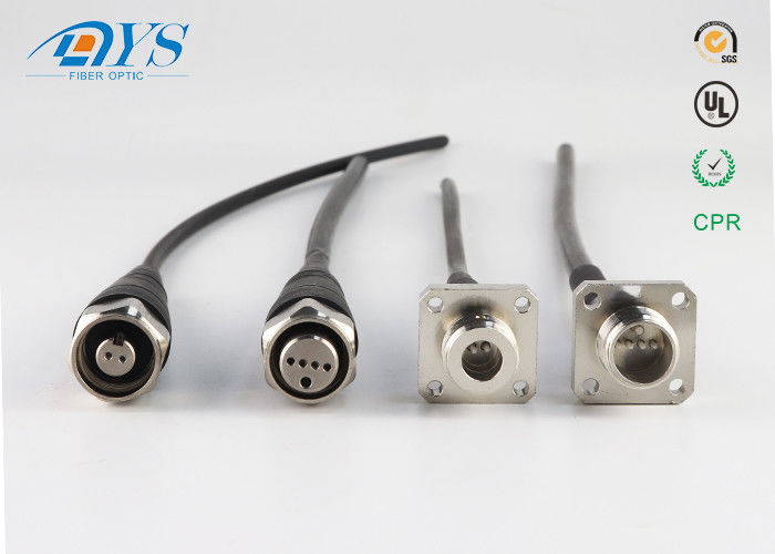 China FTTA AARC waterproof outdoor fiber optic patch cable Fiber Optic Cable Assemblies compatible with ODC connector supplier