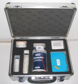 ø1.25mm Fiber Optic Cleaner Kit For Cleaning Fiber Optic Connectors 28cm X 25cm X 14cm supplier