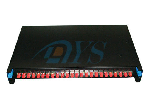 China FC Slidable Type Odf Fiber Optic 24ports Rack Mount 19 Cold-rolled Steel Sheet supplier